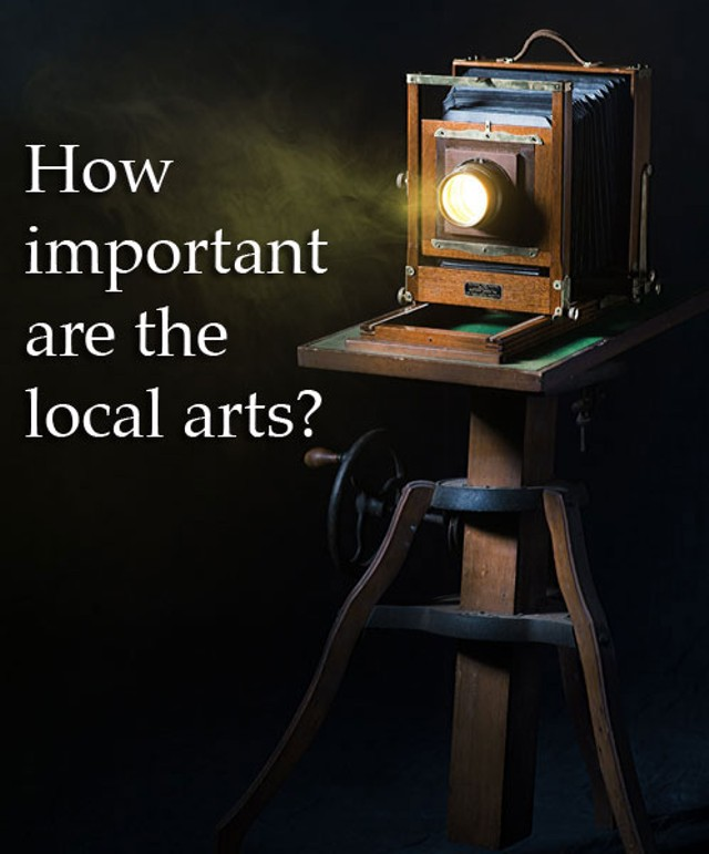 How often do you support the local arts with your attendance?